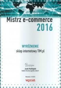 Dyplom Mistrzowie e-commerce (Medium)